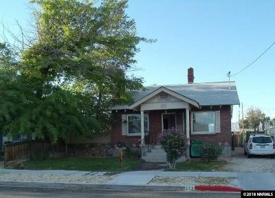 Reno Single Family Home New: 515 Burns St.