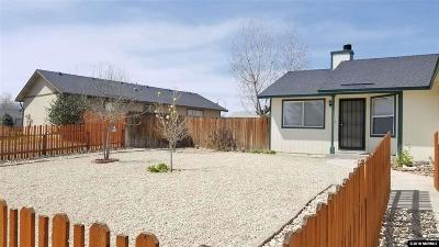 Fernley Single Family Home New: 591 Ranch Road