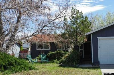 Carson City Single Family Home New: 315 W Applegate Way