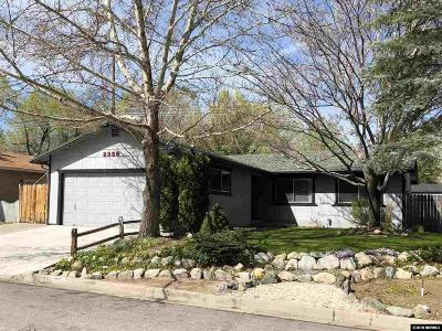 Carson City Single Family Home New: 2228 Meadowbrook