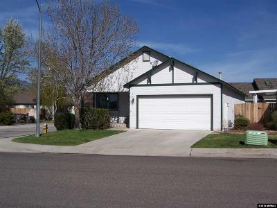 Gardnerville Single Family Home New: 1168 High School
