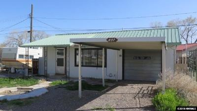 Battle Mountain Single Family Home For Sale: 897 N 1st Street