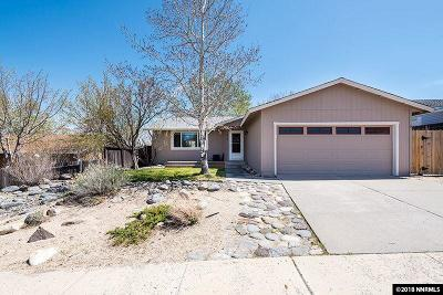 Reno Single Family Home Active/Pending-Loan: 8540 Corrigan
