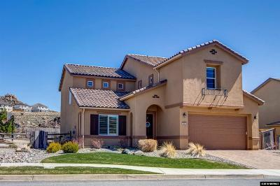 Washoe County Single Family Home New: 1990 Back Nine Trail
