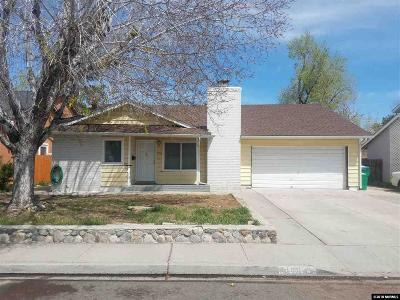 Washoe County Single Family Home New: 1768 Meadowvale Way