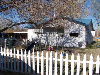 Yerington Single Family Home Active/Pending-Loan: 785 River Ave