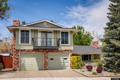 Washoe County Single Family Home New: 1765 Stardust Street
