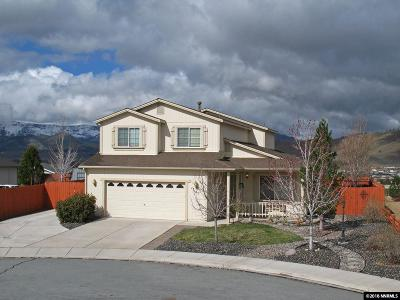 Washoe County Single Family Home New: 17161 Posy Lake Ct.