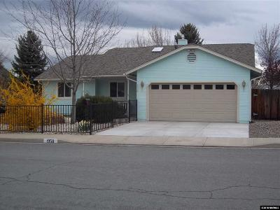 Carson City Single Family Home New: 1958 Hamilton Ave
