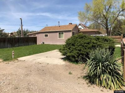 Washoe County Single Family Home New: 2315 Mayer Way
