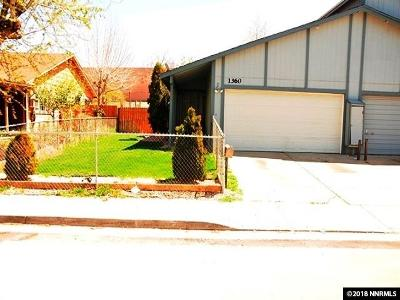 Reno Single Family Home For Sale: 1360 Butler
