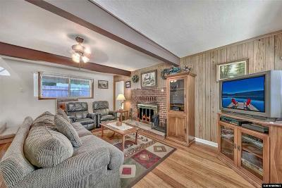 South Lake Tahoe CA Single Family Home For Sale: $399,000