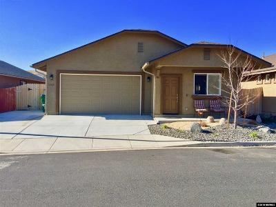 Reno Single Family Home Active/Pending-Loan: 1235 Whistler Ct