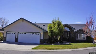 Carson City Single Family Home Active/Pending-Loan: 2031 Columbine Court