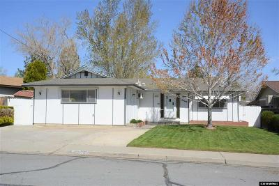 Sparks Single Family Home Active/Pending-Loan: 3460 Nowlin Lane