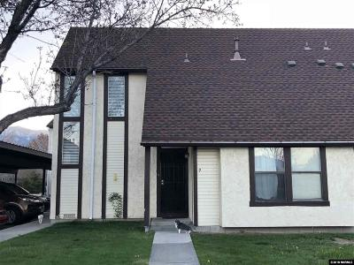 Minden Condo/Townhouse Active/Pending-Short Sale: 1758 Pinewood Drive #9