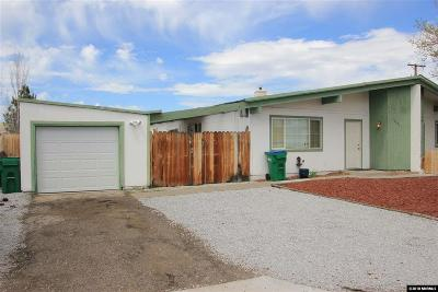 Reno Single Family Home Active/Pending-Loan: 13481 Mount Whitney St