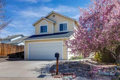 Sparks Single Family Home Active/Pending-Loan: 3143 Shadow Court