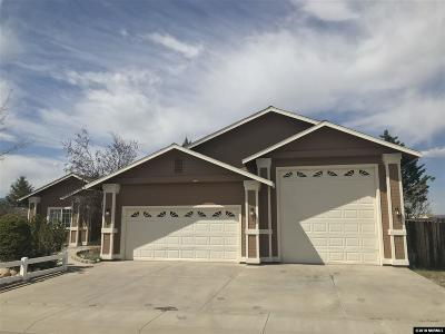 Gardnerville Single Family Home Price Reduced: 1262 Kyndal Way