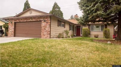 Sparks Single Family Home Active/Pending-Call: 3331 Meadowlands Dr