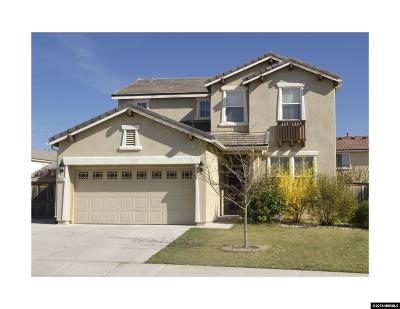 Sparks Single Family Home Active/Pending-Loan: 6630 Accolade Ct