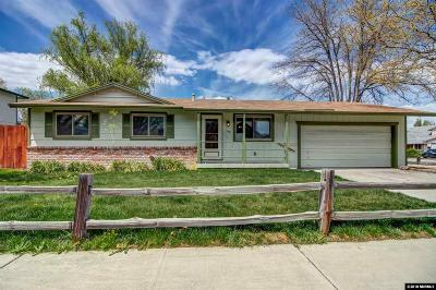 Reno Single Family Home Active/Pending-Loan: 7473 Sandstone Drive
