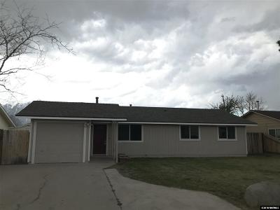 Gardnerville Single Family Home For Sale: 1383 Bumblebee Dr