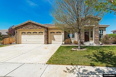 Sparks Single Family Home Active/Pending-Loan: 5971 Axis Drive