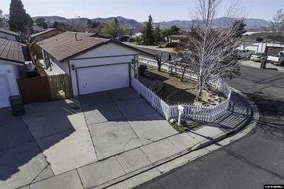 Reno Single Family Home Active/Pending-Call: 6960 Flower St
