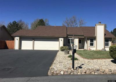 Washoe County Single Family Home Active/Pending-Call: 12545 Creek Crest Drive