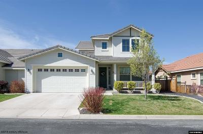 Sparks Single Family Home Active/Pending-Loan: 6019 Quintessa Drive