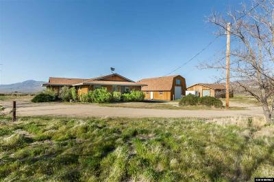 Reno Single Family Home Active/Pending-House: 6200 Winnemucca Ranch Rd
