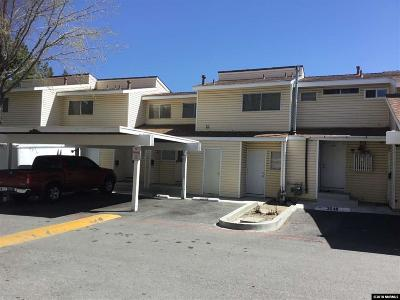 Reno Condo/Townhouse For Sale: 3550 Willow Hills
