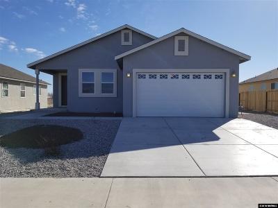 Fallon Single Family Home For Sale: 1308 Onda Verde