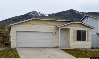 Reno Single Family Home For Sale: 7810 Mariner Cove