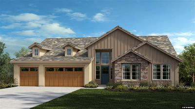 Verdi Single Family Home For Sale: 9075 Boomtown Garson Rd #Lot 110