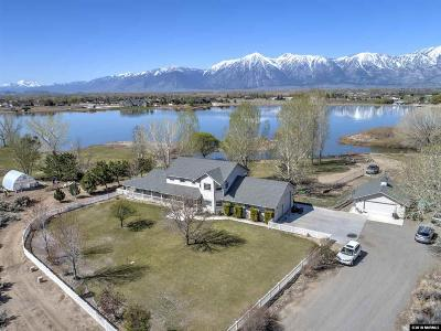 Gardnerville Single Family Home Active/Pending-House: 1590 East Valley