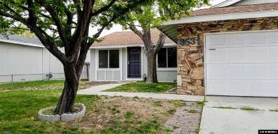 Reno Single Family Home Active/Pending-Loan: 3531 Rio Poco Rd