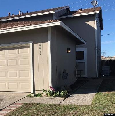 Reno Single Family Home For Sale: 10095 Zeolite Dr