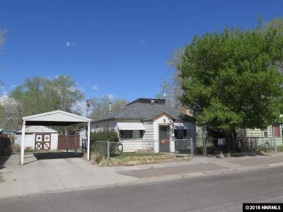 Battle Mountain Single Family Home For Sale: 275 W 3rd Street