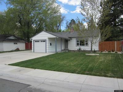 Reno Single Family Home Active/Pending-Loan: 1838 Vale St.