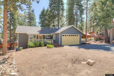 Incline Village Single Family Home Price Reduced: 203 Nadine Ct