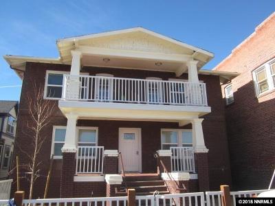 Reno Multi Family Home For Sale: 721-727 S Virginia Street