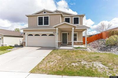 Reno Single Family Home Active/Pending-Loan: 9230 Red Baron Bvd