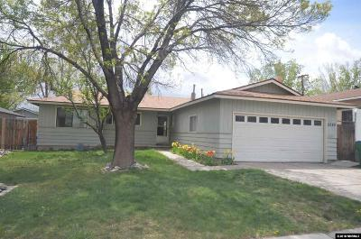 Reno Single Family Home Active/Pending-Loan: 2080 Windsor Way