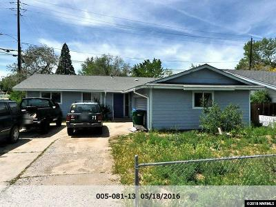 Reno Single Family Home For Sale: 701 Wyoming
