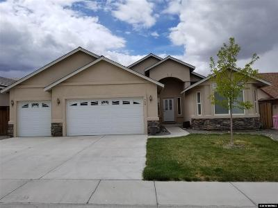 Fernley Single Family Home Active/Pending-Call: 560 Wedge Lane