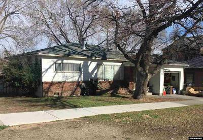 Reno Single Family Home For Sale: 782 Forest