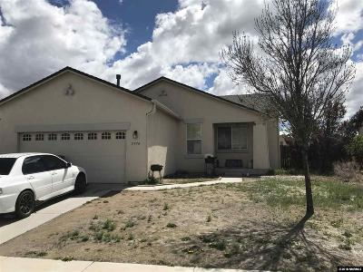 Sparks Single Family Home Active/Pending-Loan: 5774 Sonora Pass