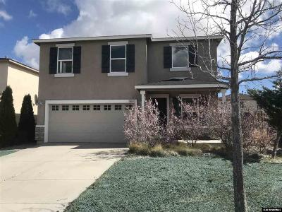 Reno Single Family Home For Sale: 8940 Silverkist Dr.